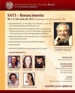 Afiche de SAT3 Renacimiento Maio de 2015