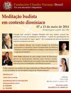 Afiche de Meditación Budista